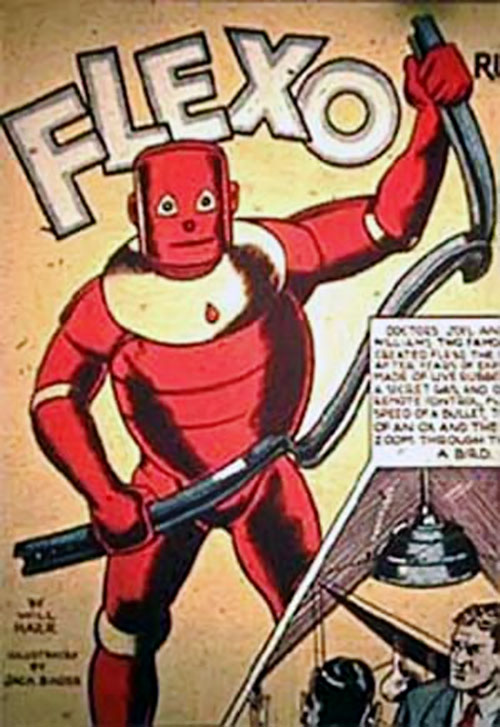 Flexo the Rubber Man (Timely Comics, future Marvel)