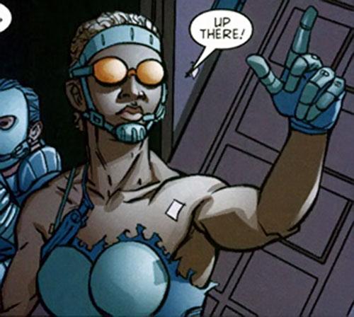 Flint of Stormwatch Team Achilles