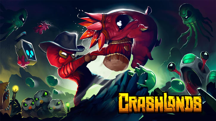 Crashlands video game - Flux Dabes - movie-style poster #1