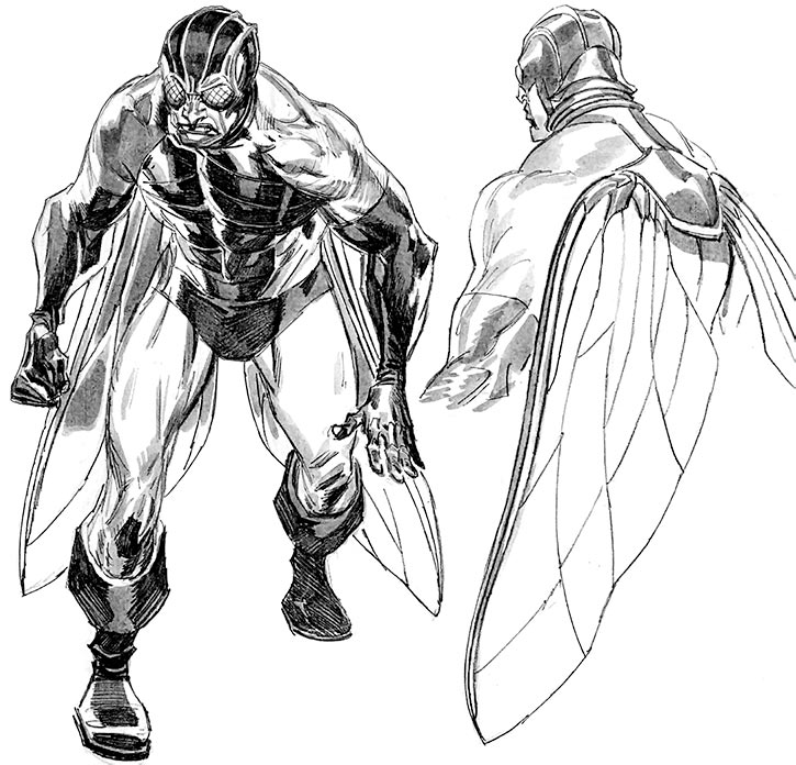 Fly (Marvel Comics) (Richard Deacon) 2009 redesign by Tan Eng Huat
