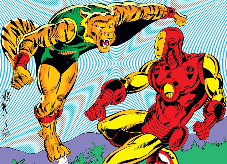 Flying Tiger vs. Iron Man