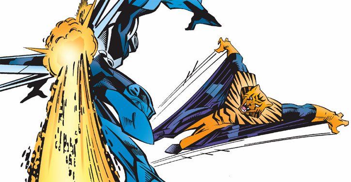Flying Tiger (Marvel Comics) vs. Mach One