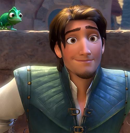 Flynn Rider (Disney's Tangled) smiling