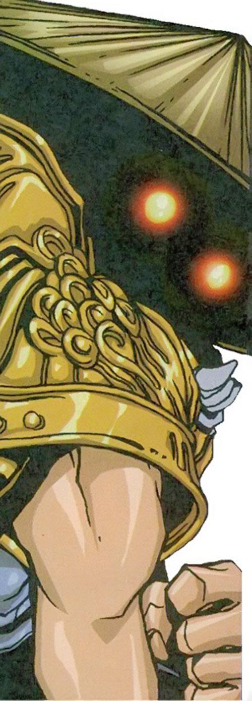 Foe Dog (Iceman ally) (Marvel Comics) closeup