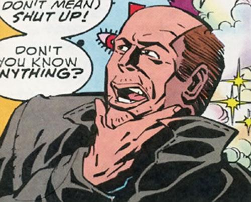 Fog of the Brotherhood of dada (Doom Patrol character) (DC Comics) in human, form
