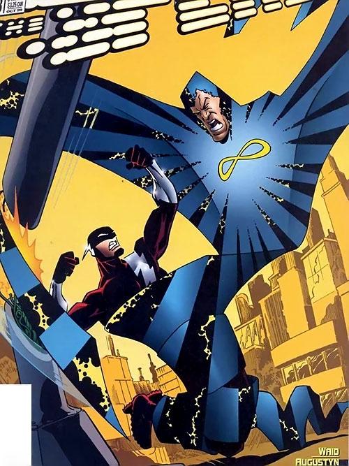 Folded Man (Flash enemy) (DC Comics)