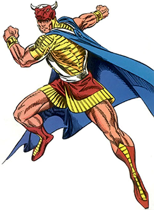 Gilgamesh of the Avengers (Marvel Comics)