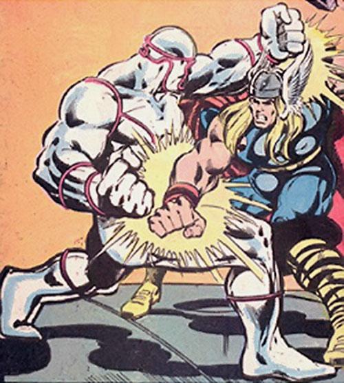 The Forgotten One (as Hero) vs. Thor