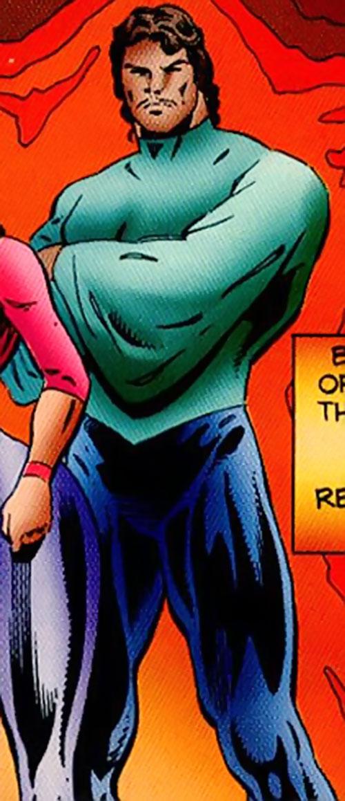 Forsa (Ultraverse comics) (Hardcase ally) full costume