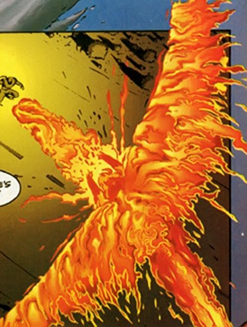 Foxfire (Ultraverse comics) strafing