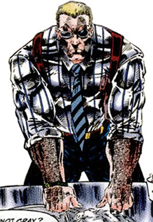 Frank Colby of I.O. (Image Comics) (WildCATs character)