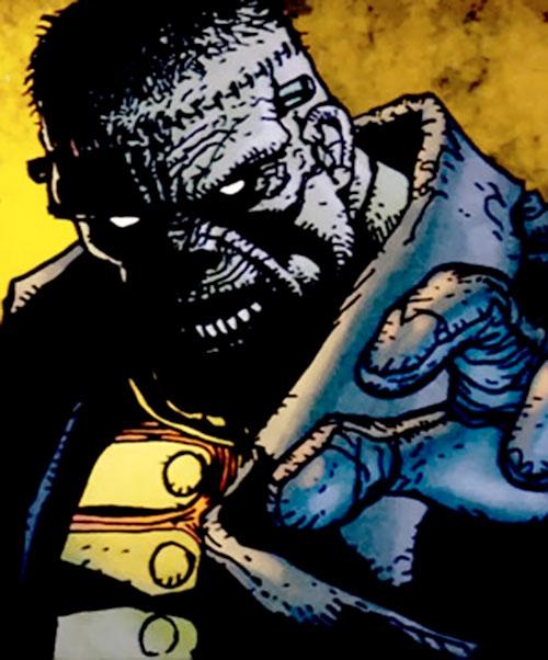 Frankenstein (7 Soldiers) (DC Comics) portrait