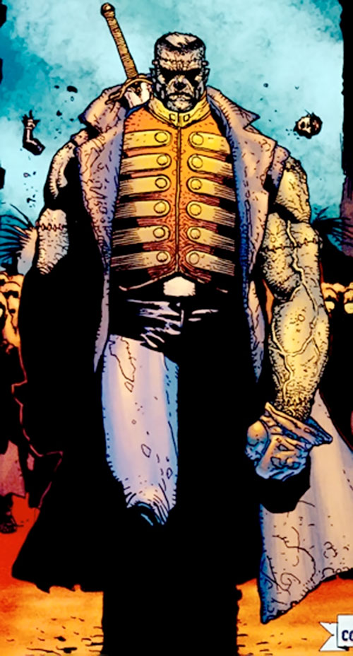 Frankenstein (7 Soldiers) (DC Comics)