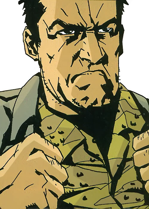 Colonel Franklin Clay of the Losers (DC Comics)