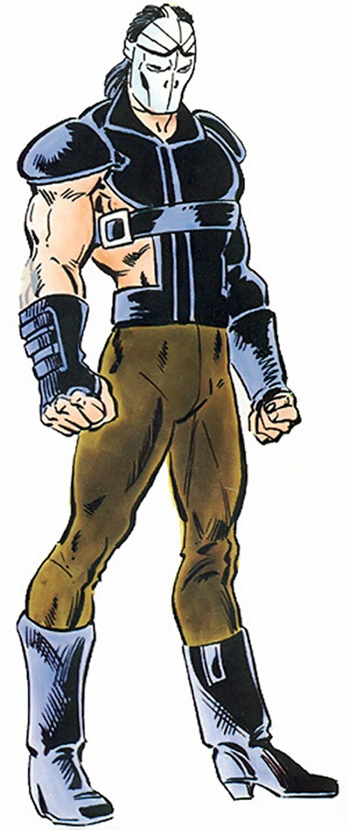 Freakout (Alpha Flight enemy) (Marvel Comics) from the TSR handbook