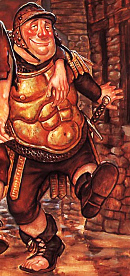 Fred Colon (Pratchett's Discworld Watch) drunk