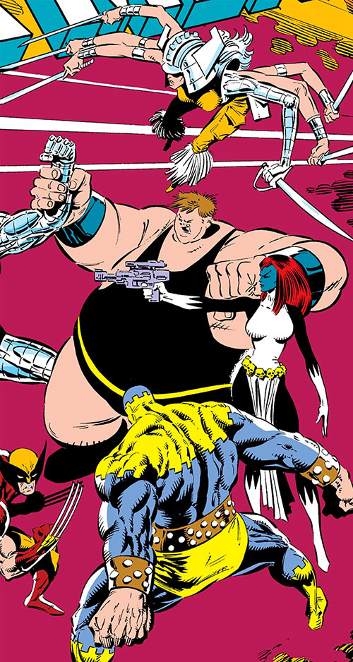 Freedom Force - Marvel Comics - Mystique-led team profile