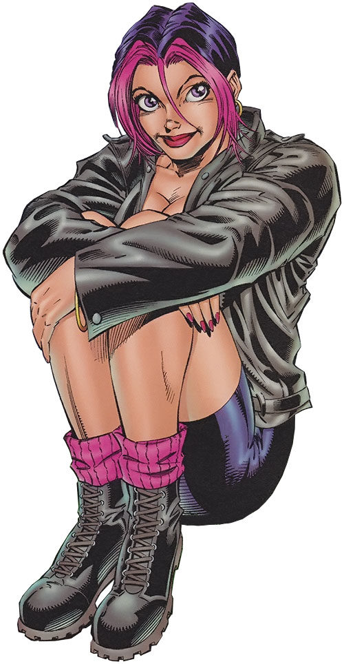 Freefall (Gen 13) (Image Comics) sitting