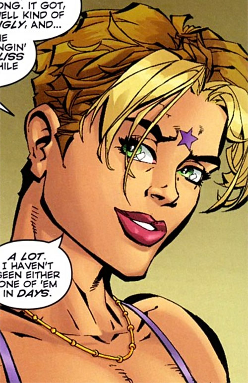 Freestyle (DV8) (Wildstorm Comics) face closeup