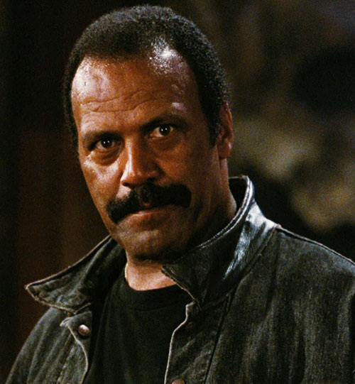 Frost the Vietnam veteran (Fred hammer Williamson in Dusk till Dawn) closeup
