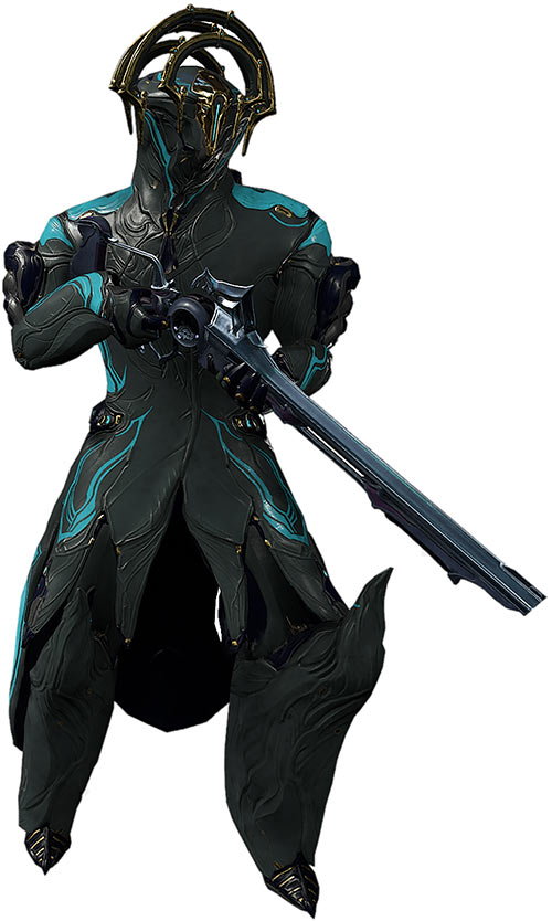 Frost prime warframe with sybaris