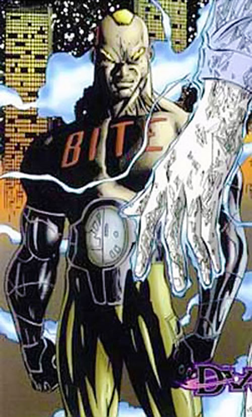 Frostbite (DV8) (Wildstorm Comics) trading card