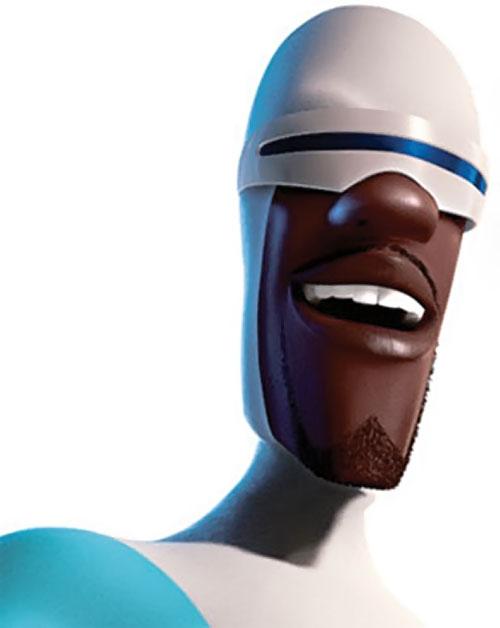 Frozone (The Incredibles) face closeup