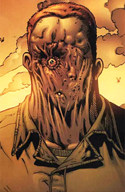 Fuckface (Fury MAX) (Marvel Comics) closeup