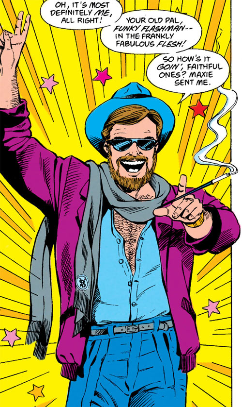Funky Flashman (DC Comics) in the 1988 Mister Miracle series
