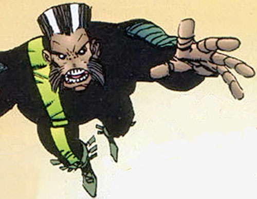 Furious George (Savage Dragon comics) leaping