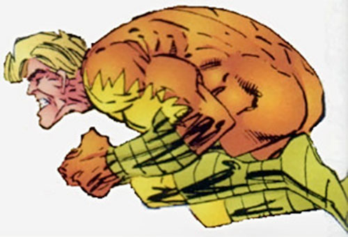 Raging Woody (Savage Dragon comics) leaping