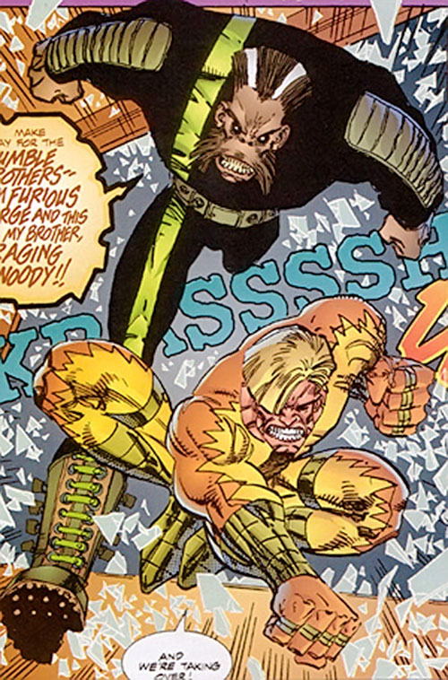 Furious George and Raging Woody the Rumble Brothers (Savage Dragon comics)