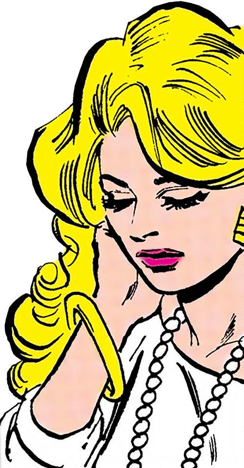 Lyta Hall (Fury) (DC Comics) in white