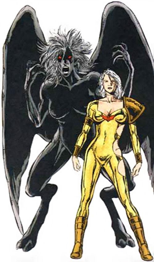 Fury (Helena Kosmatos) and her patron