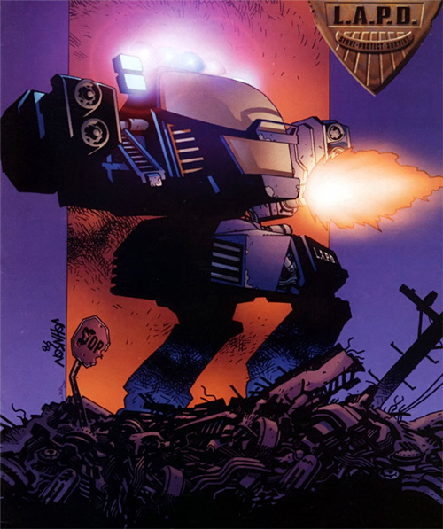 Future Cop Tac Alpha mecha (Wildstorm Comics)