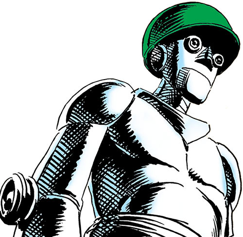 G.I. Robot Mac (DC Comics) (War That Time Forgot)