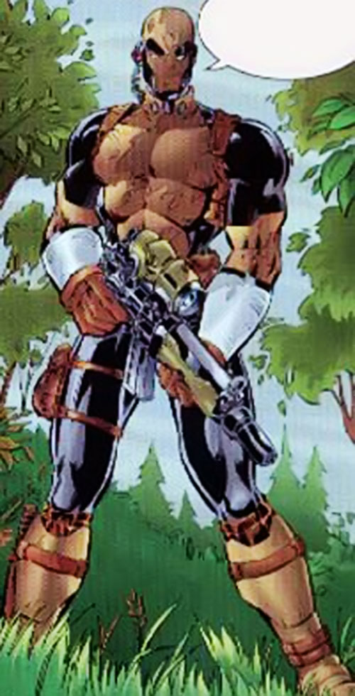 GQ of Black Ops (Image | Wildstorm Comics) in the field