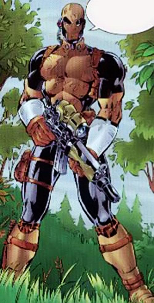 GQ of Black Ops (Image | Wildstorm Comics) in the field