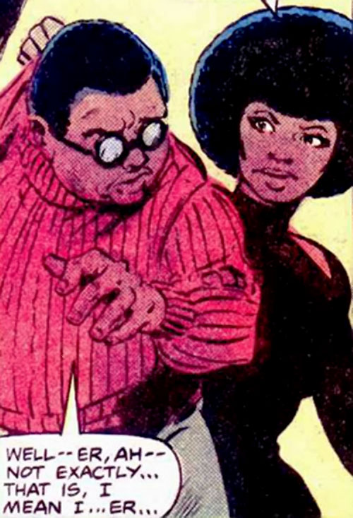 Gadget (Luke Cage character) (Marvel Comics) and Misty Knight