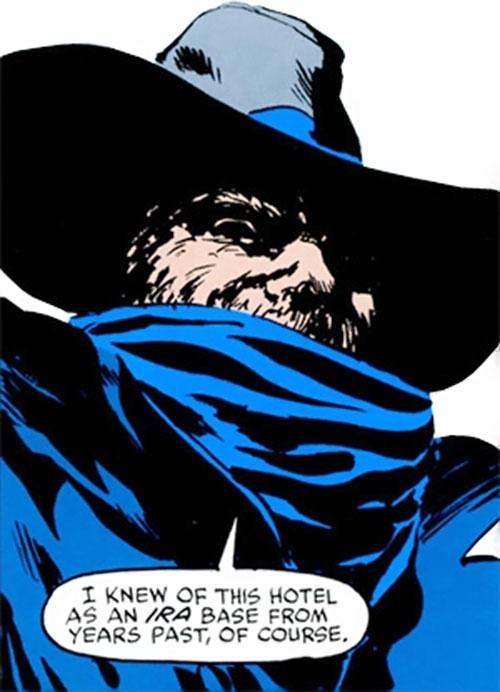 The Gael (Daredevil enemy) (Marvel Comics) face closeup
