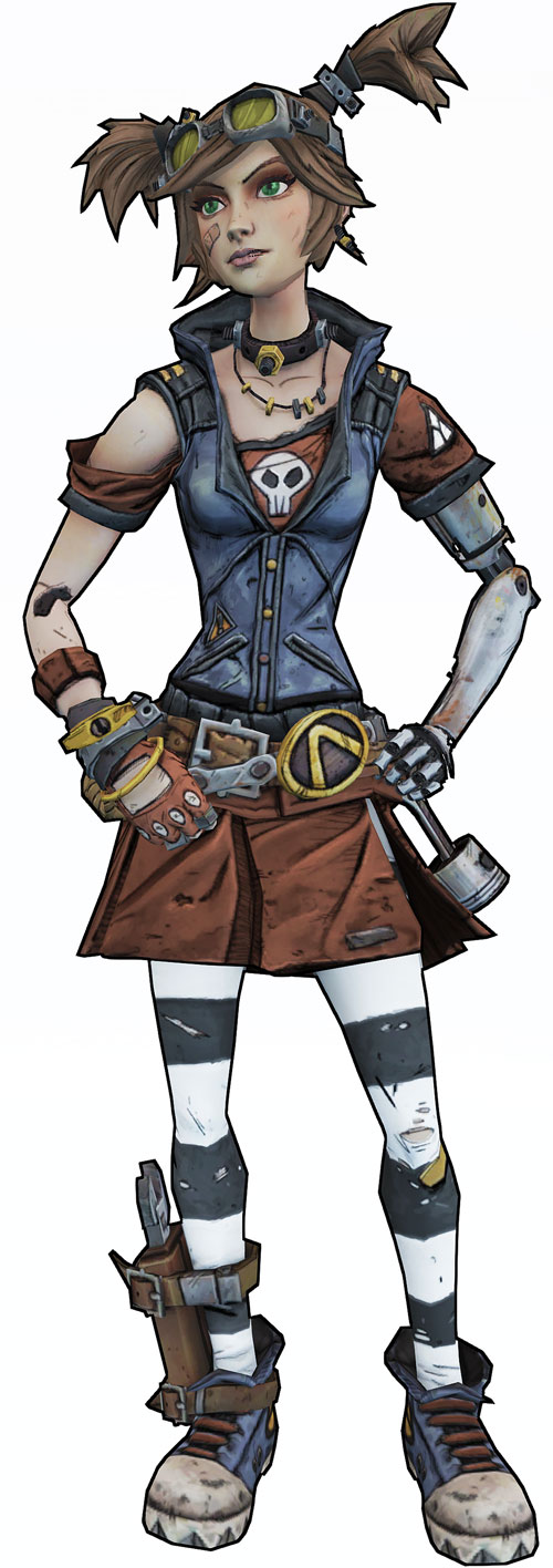 Gaige from Borderlands (Mechromancer)