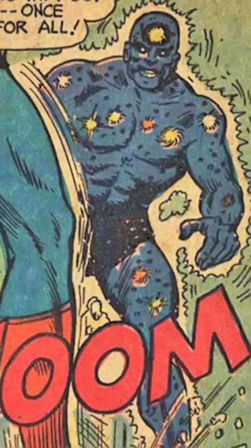 The Galactic Golem faces Superman