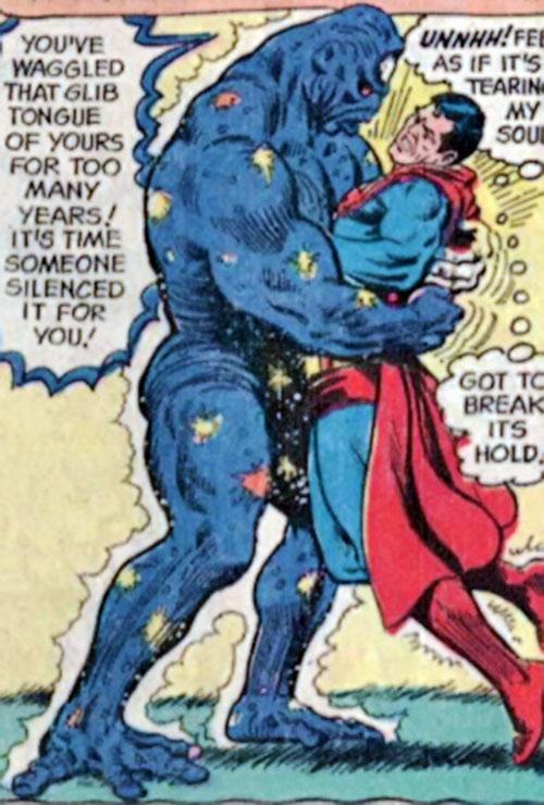 Early Galactic Golem vs. Superman