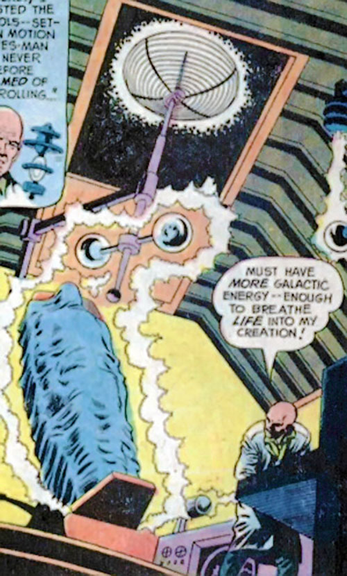 The Galactic Golem is created by Lex Luthor