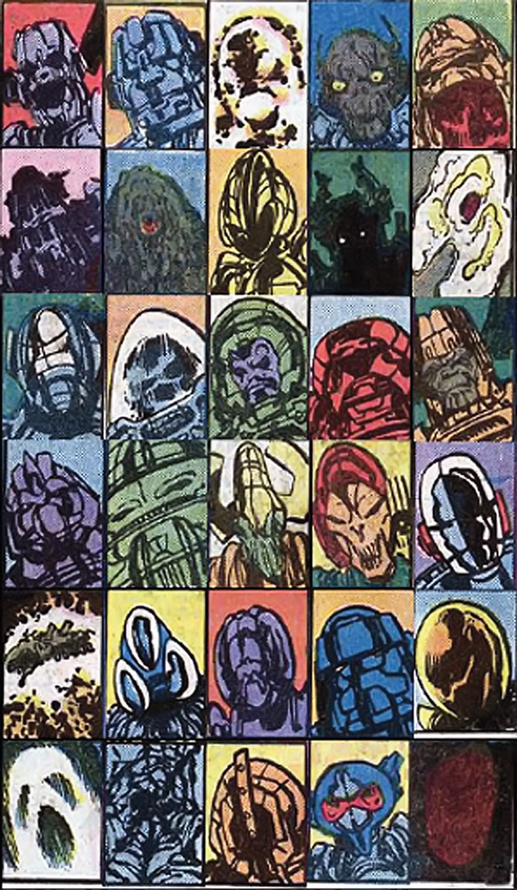 Galactus as perceived by a variety of alien species