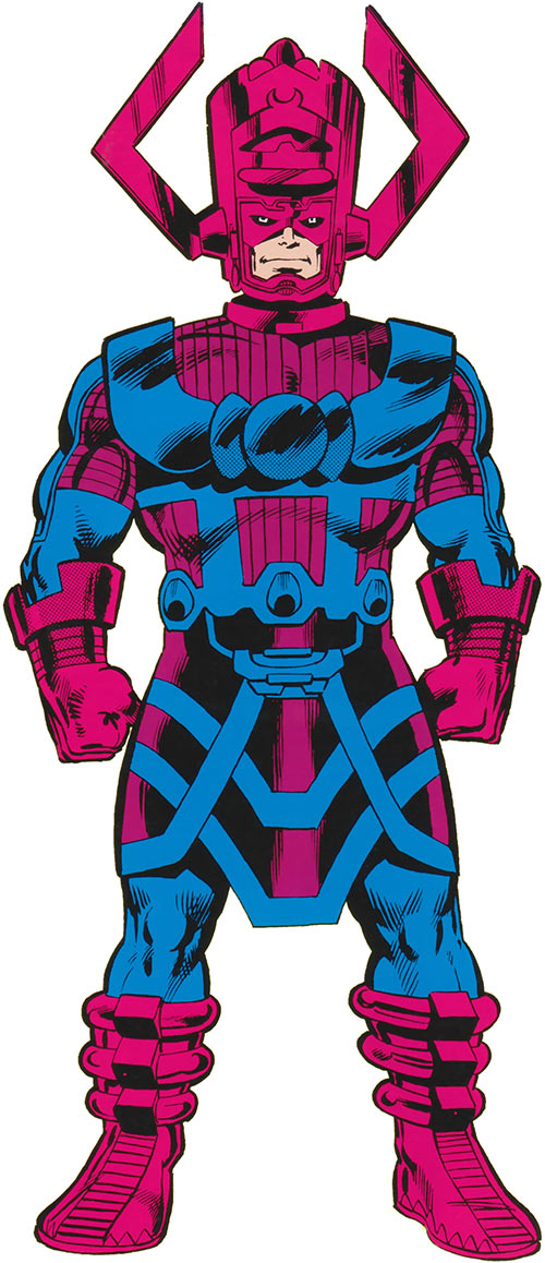 Galactus (Marvel Comics) from the handbook