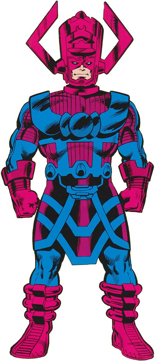 Galactus (Marvel Comics) from the handbook