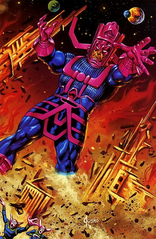 Galactus (Marvel Comics) by Joe Jusko masterpieces painting