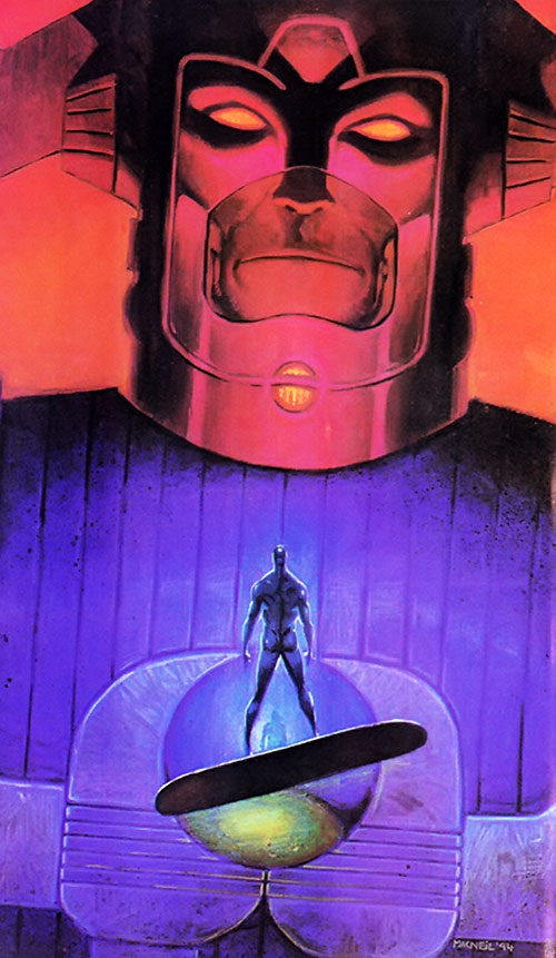 Galactus (Marvel Comics) and the Silver Surfer