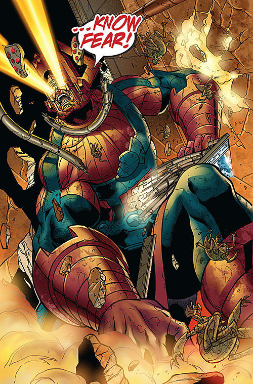 Galactus (Marvel Comics) free from the Annihilation Wave